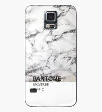 PANTONE Marmor Hülle & Klebefolie für Samsung Galaxy