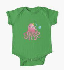 Cute Octopus One Piece - Short Sleeve