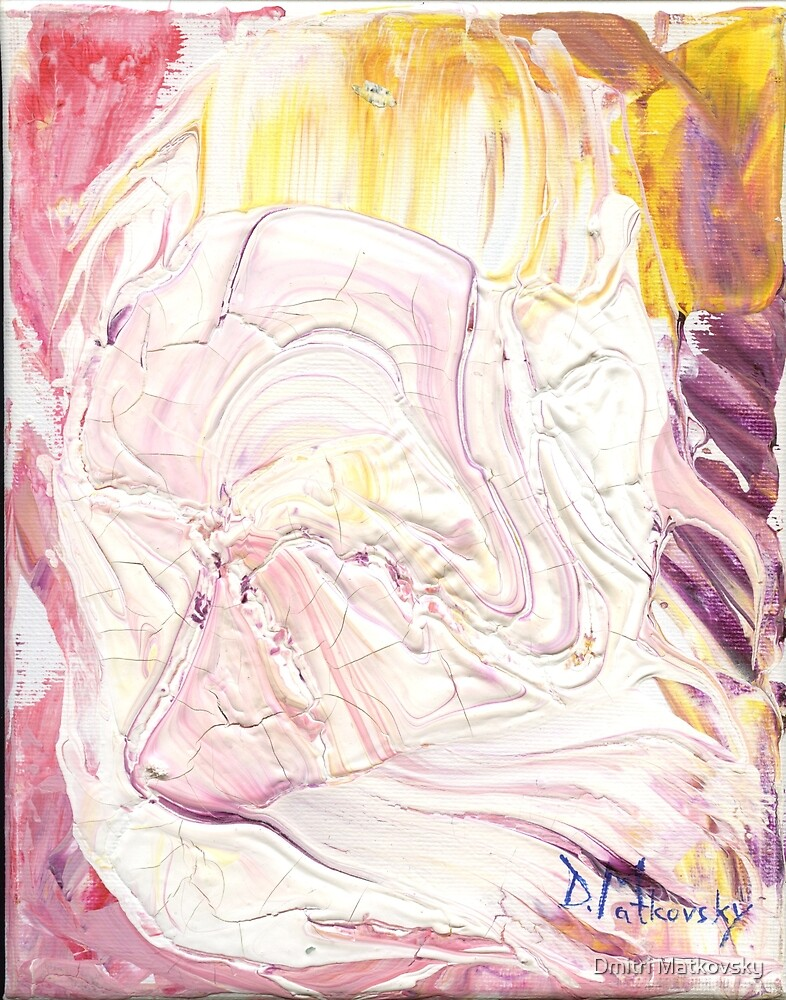 Mozart - Lacrimosa, Requiem Mass in D minor (K. 626)- Original oil painting by Dmitri Matkovsky
