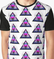 """Retro 80's Synthwave / New Retro Wave: Neon Nights (Without """"SynthWave"""" Logo) Graphic T-Shirt"""