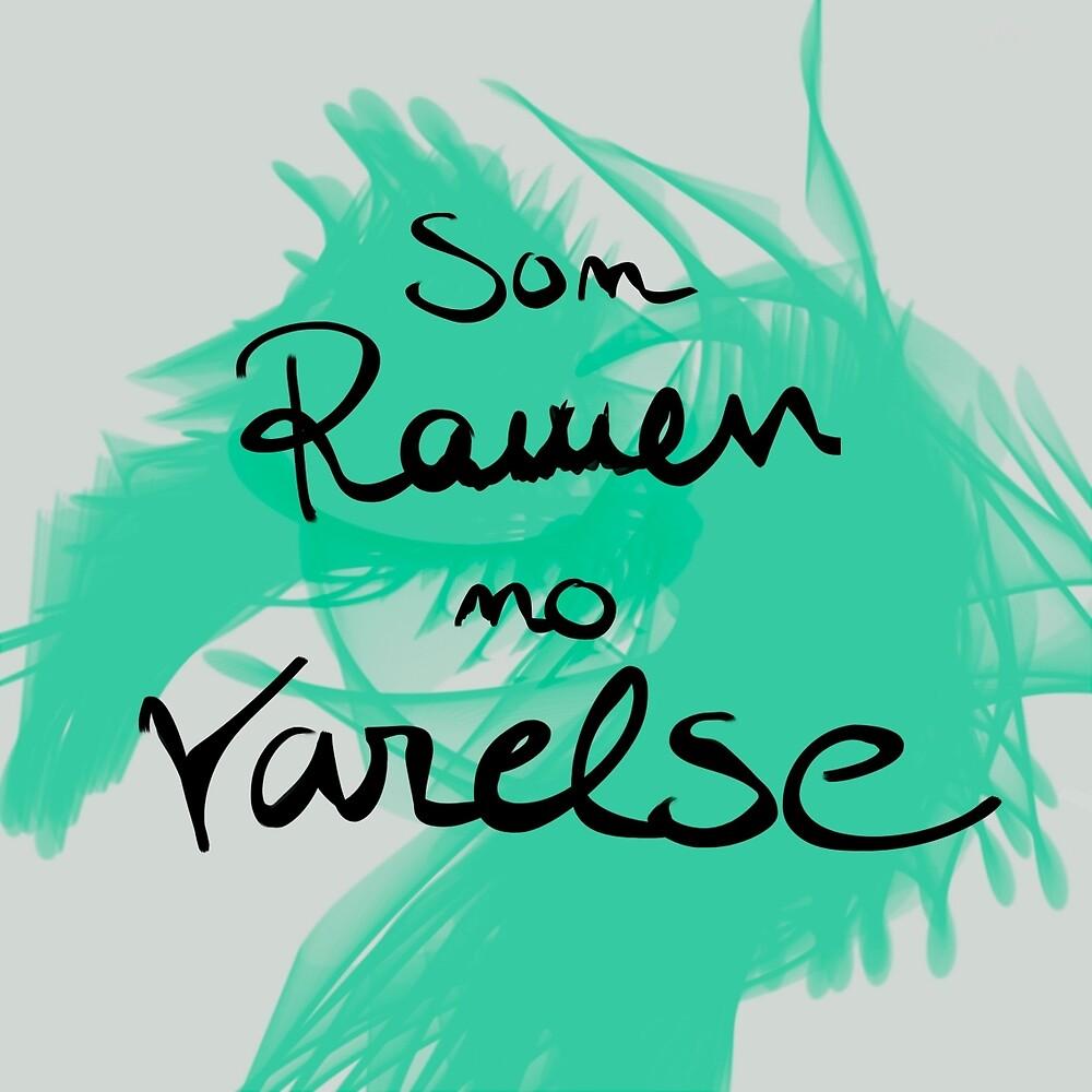 Ramen and Varelse, Ender's Game by Julia Romero Barandiarán