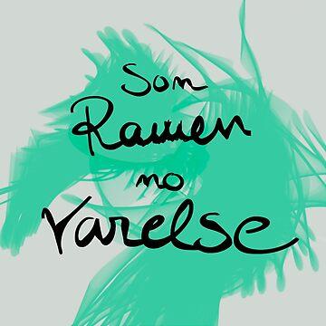 Ramen and Varelse, Ender's Game by JuliaMaud