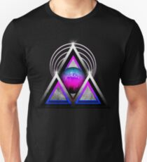 "Retro 80's Synthwave / New Retro Wave: Neon Nights (Without ""SynthWave"" Logo) Unisex T-Shirt"