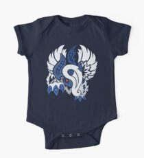 Mega Absol - Yin and Yang Evolved! Short Sleeve Baby One-Piece