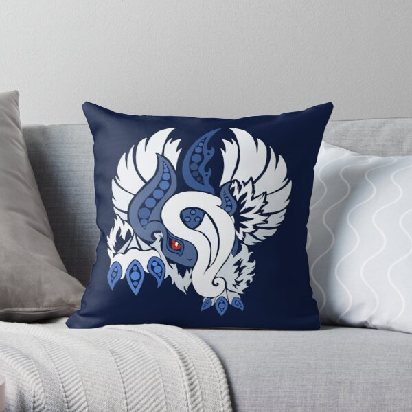 Mega Absol - Yin and Yang Evolved! Throw Pillow