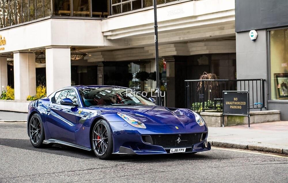 Ferrari F12 TDF by Rico Liu