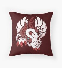 Shiny Mega Absol - Yin and Yang Evolved! Throw Pillow