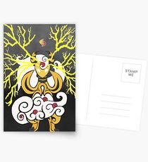 Tribalish Mega Ampharos - Eye of the Storm Postcards