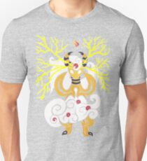 Tribalish Mega Ampharos - Eye of the Storm Slim Fit T-Shirt