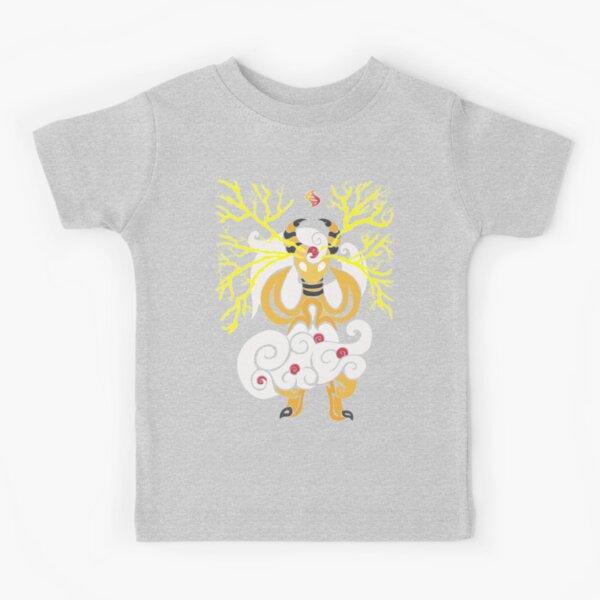 Tribalish Mega Ampharos - Eye of the Storm Kids T-Shirt