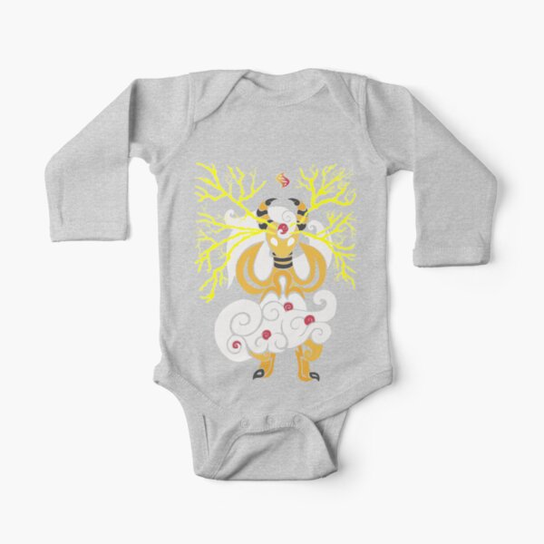 Tribalish Mega Ampharos - Eye of the Storm Long Sleeve Baby One-Piece