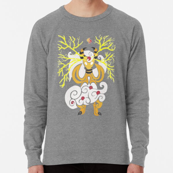 Tribalish Mega Ampharos - Eye of the Storm Lightweight Sweatshirt