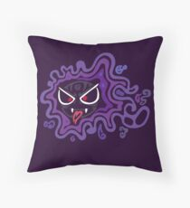 Tribal Ghastly - Creepy and Awesome! Throw Pillow
