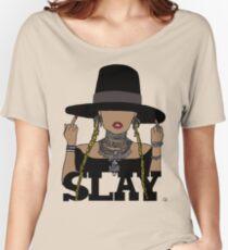 SLAY (Transparent BG) Women's Relaxed Fit T-Shirt