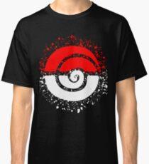 Splattered Tribalish Pokeball! Classic T-Shirt
