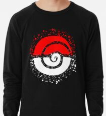 Splattered Tribalish Pokeball! Lightweight Sweatshirt