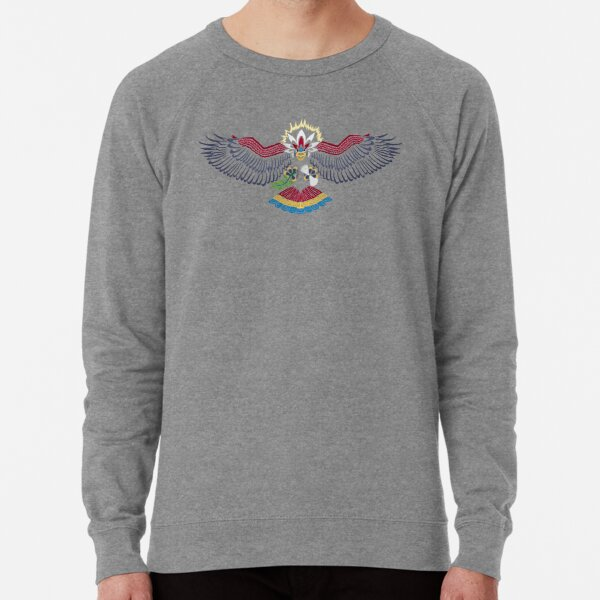 Colored Tribalish Braviary - The All-American Bird Lightweight Sweatshirt