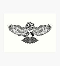 Tribalish Braviary - The All-American Bird Art Print