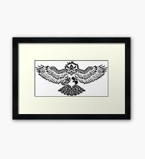 Tribalish Braviary - The All-American Bird Framed Print