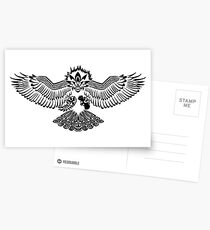 Tribalish Braviary - The All-American Bird Postcards