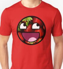 Strawberries Meme Face T-Shirt