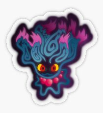 Tribalish Misdreavus (Sticker) Transparent Sticker