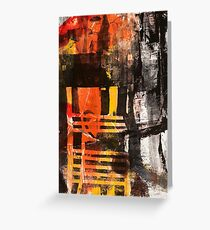 TIME IS THE FIRE IN WHICH WE BURN-PART 3—SCHWARTZ Greeting Card