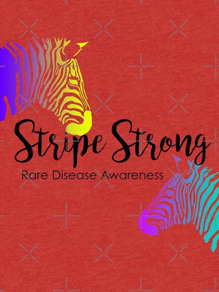 Stripe Strong - Rare Disease by purrfectpixx
