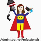 Administrative Professional Super Hero (Brunette) by ValeriesGallery