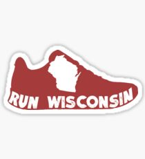 Run Wisconsin Sticker