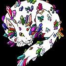 Crystal Cat Dragon by HomicidalHugz