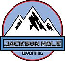 Ski Jackson Hole Wyoming Mountain Skiing Art Mountains Snow by MyHandmadeSigns