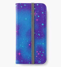 Indigo Nebula (8bit) iPhone Wallet/Case/Skin