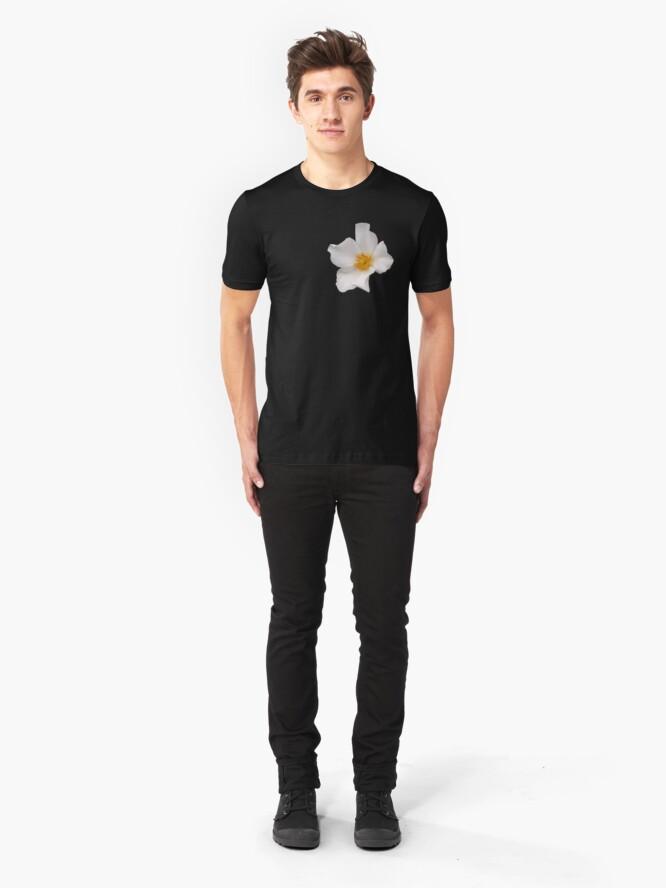 Alternate view of California Winter Rose Slim Fit T-Shirt