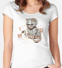 ROBOCAT Women's Fitted Scoop T-Shirt