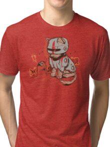 ROBOCAT Tri-blend T-Shirt