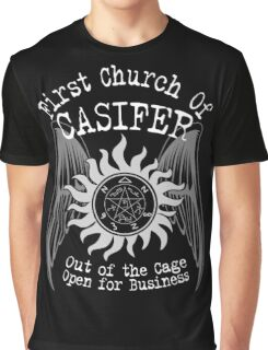 First Church of Casifer Graphic T-Shirt