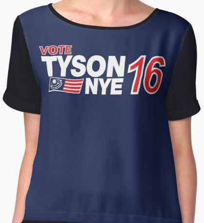 Tyson / Nye 2016 Women's Chiffon Top