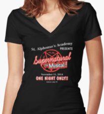 Übernatürliches Das Musical Shirt mit V-Ausschnitt