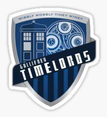 Gallifrey Timelords Sticker