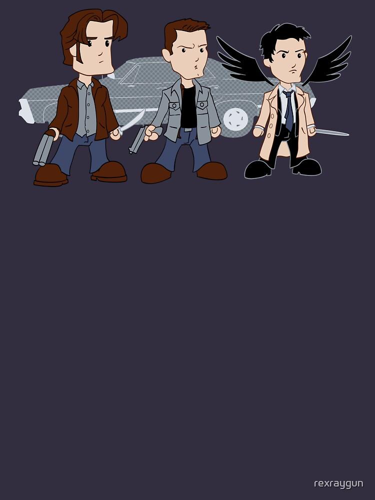 Sam, Dean, Castiel von rexraygun