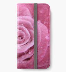 dusky rose iPhone Wallet/Case/Skin