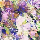 Colour Turmoil - Multi Coloured Abstract Painting by Printpix