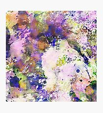 Colour Turmoil - Multi Coloured Abstract Painting Photographic Print