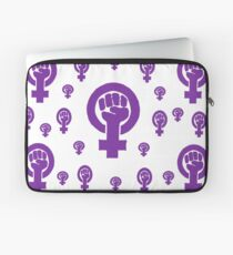 Feminist Purple Laptop Sleeve