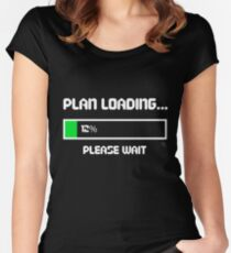 12 Percent of a Plan Women's Fitted Scoop T-Shirt