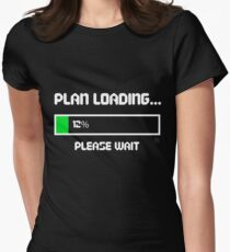 12 Percent of a Plan Womens Fitted T-Shirt