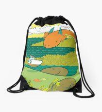 Loch Nessie Drawstring Bag
