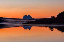 Suilven Reflections at Dusk by derekbeattie