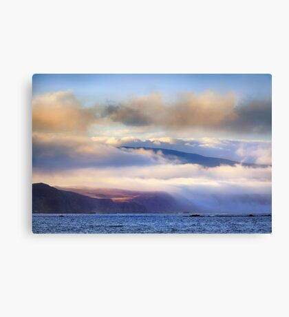 Veiled Land of Dreams Canvas Print